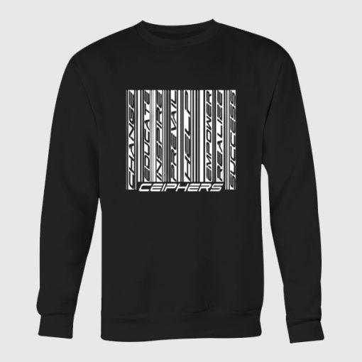 Barcode Crewneck Sweatshirt