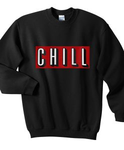 Chill Red Sweatshirt