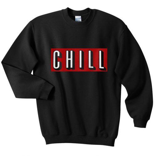 Chill Red Sweatshirt