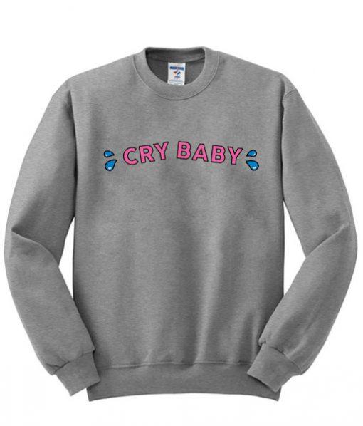 Cry-Baby-Sweatshirt