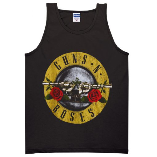 Guns N Roses Logo Vintage Tanktop