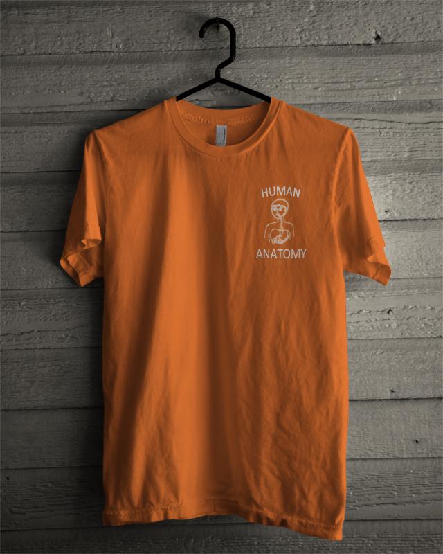 Human Anatomy T Shirt