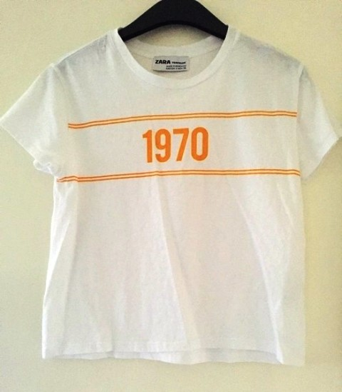 1970 Yellow Shirt