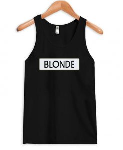 Black Blonde Tanktop