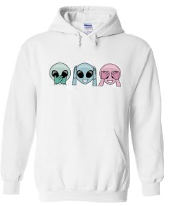 Speak Hear See No Evil Hoodie