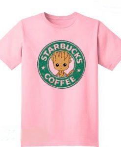 Starbucks Coffee Baby Groot T-Shirt