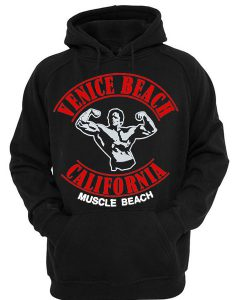 Venice Beach California Muscle Beach Hoodie