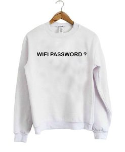 Wifi Password Sweatshirt