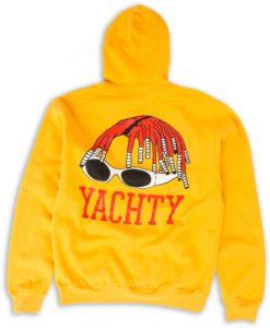 Yachty Yellow Back Hoodie
