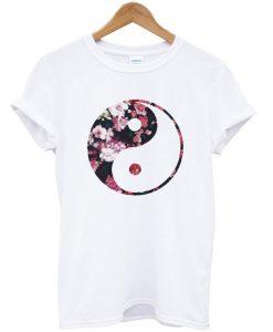 Yin Yang Floral T-Shirt