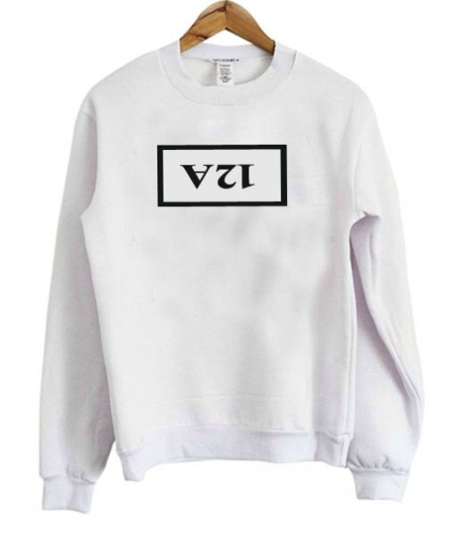 12A White Sweatshirt
