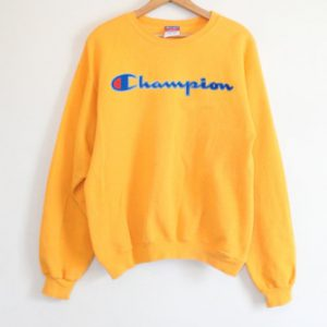 Champion Yellow Sweatshirt