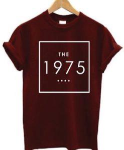 The 1975 Maroon T-Shirt