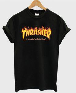 Thrasher Magazine Flame T-Shirt