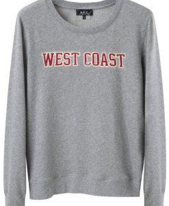 West Coast Grey Sweatshirt