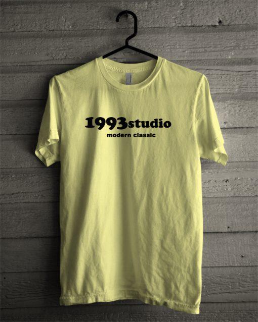 1993 Studio Modern Classic Yellow T-Shirt