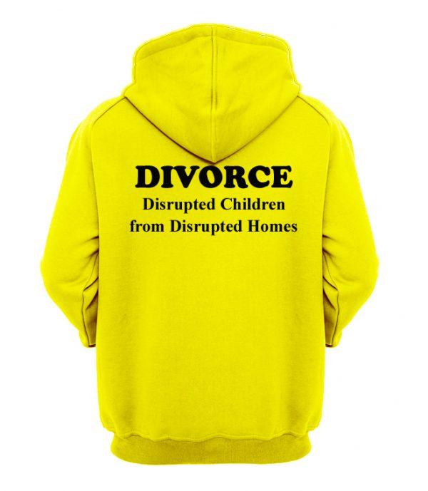 Divorce Disrupted Children Hoodie