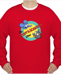 The Itchy and Scratchy Show Sweatshirt