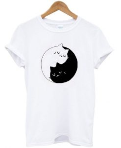 Yin Yang Cats Kittens T-Shirt