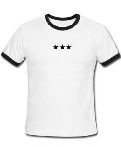 Stars Ringer T-Shirt