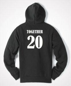 Together 20 Back Hoodie