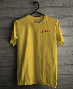 Yikes Yellow T-Shirt