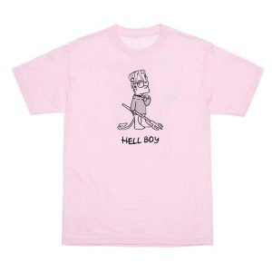 Hellboy Bart Simpson T-Shirt