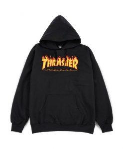 Thrasher Magazine Flame Hoodie