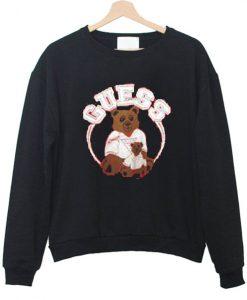 Vintage Guess Teddy Bear Sweatshirt