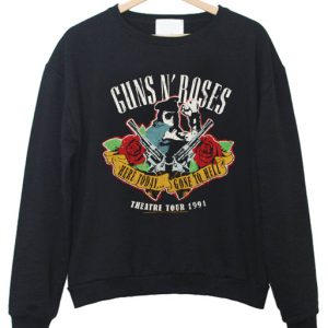 Guns N Roses Here Today And Gone To Hell Sweatshirt