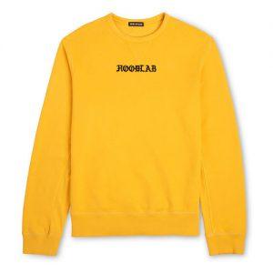 Hoodlab Yellow Sweatshirt