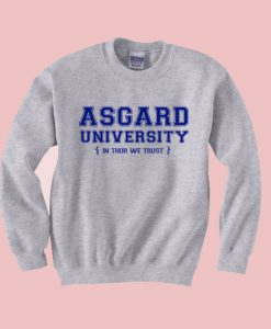 Asgard University Thor Sweatshirt