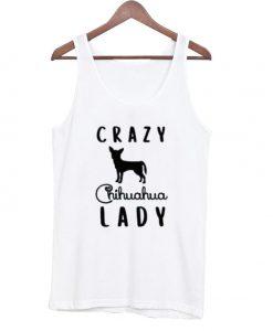 Crazy Chihuahua Lady Tanktop
