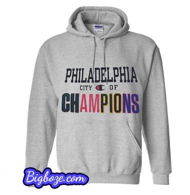 pretty nice 6c083 70dbc Philadelphia City of Champions Hoodie