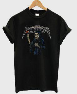 Yeezus Death Skeleton T-Shirt