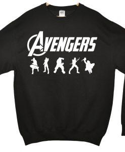 Avengers Silhouette Sweatshirt