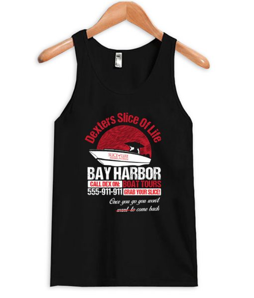 Cool Dexter Bay Harbor Boat Tours Tanktop