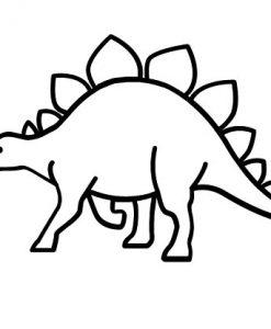 Stegosaurus Cute T-Shirt