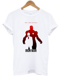 The Avengers Iron Man Silhouette T-Shirt