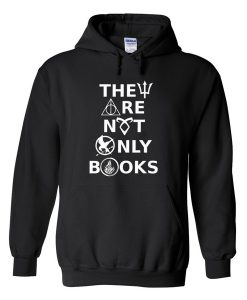 They Are Not Only Books Hoodie