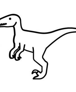 Velociraptor Cute T-Shirt
