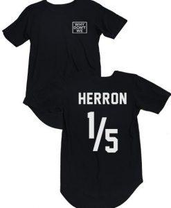 Why Don't We Herron Jersey T-Shirt