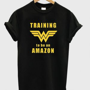 Wonder Woman Training to be an Amazon T-Shirt