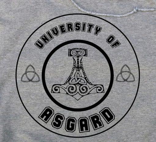 University of Asgard Thor Loki Hoodie