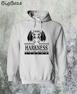 Team Harkness Lifetime Member Legend Hoodie