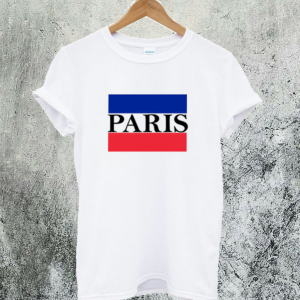 Paris Flag T-Shirt