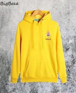 Space Rocket Yellow Hoodie