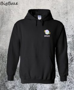 Space Saturn Planet Hoodie