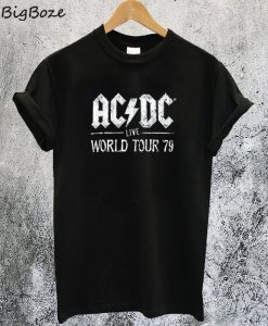 ACDC Live World Tour 79 T-Shirt