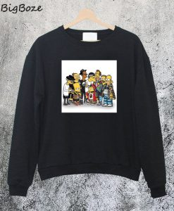 Simpson Family and Friends Sweatshirt